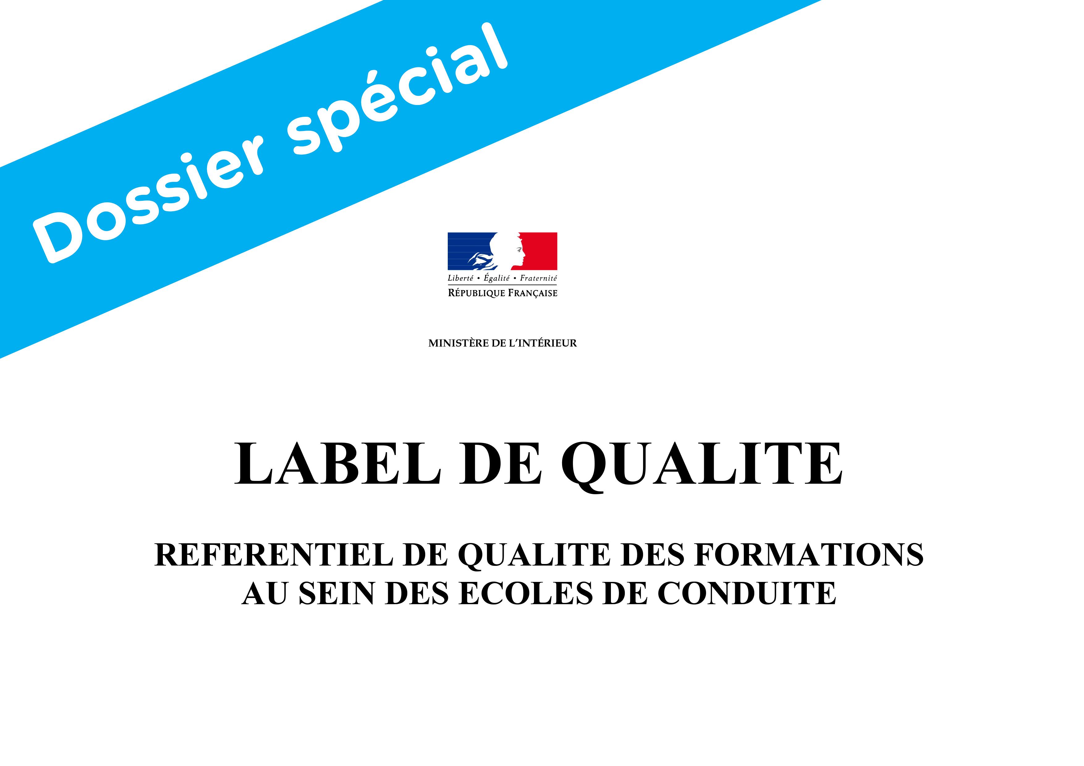 Label Auto Ecole